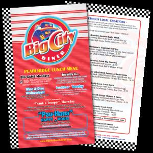 Menu – Big City Diner