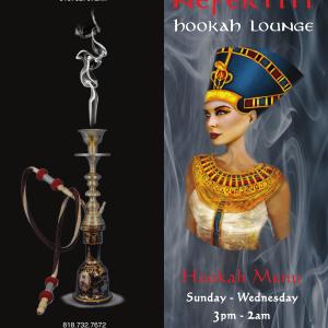 Menus – Nefertiti Hookah