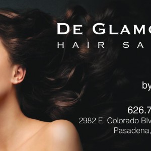 Business Cards – De Glamour Salon