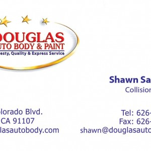 business Cards – Douglas Auto Body