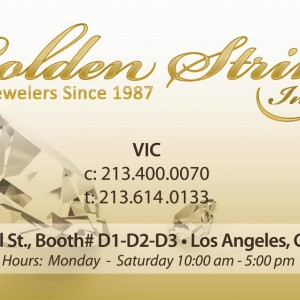 Business Cards – Golden Stering