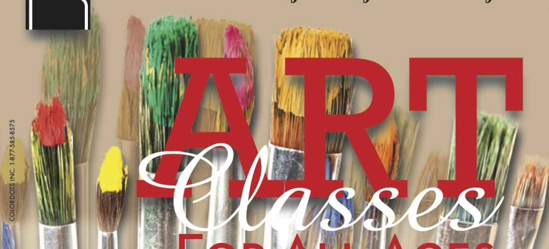 Post Card – Art Classes