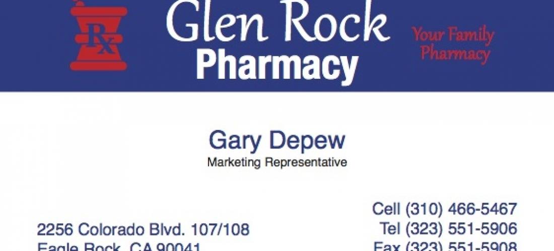 Business Cards – Glen Rock Pharmacy